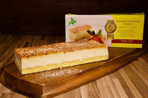 北海道芝士Crème brûlée蛋糕