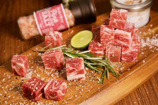 美國一口和牛肉粒_2